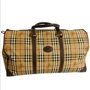 1932d1090a6e Burberry Bags - Burberry Nova Check Plaid Boston Weekender bag.