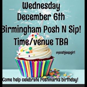 Poshmark's Birthday Celebration! B'ham Posh n Sip