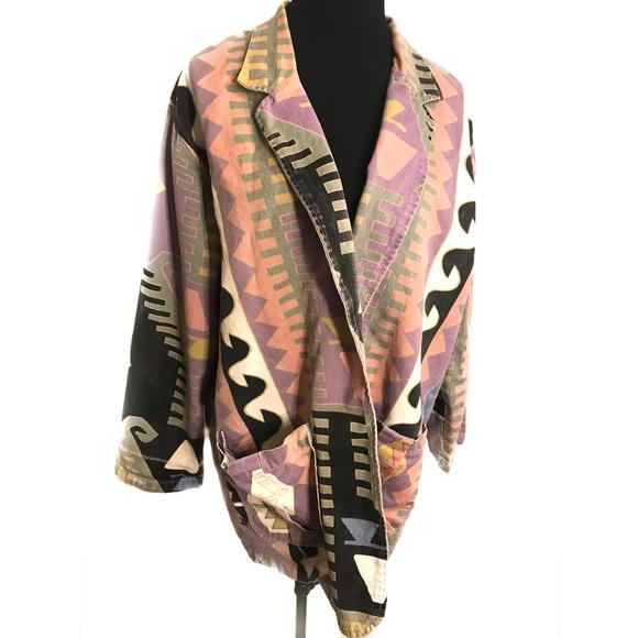 Vintage Jackets & Blazers - Awesome 90's Southwestern jacket