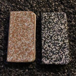 Accessories - Rhinestone iPhone 6 Plus case bundle wallet style
