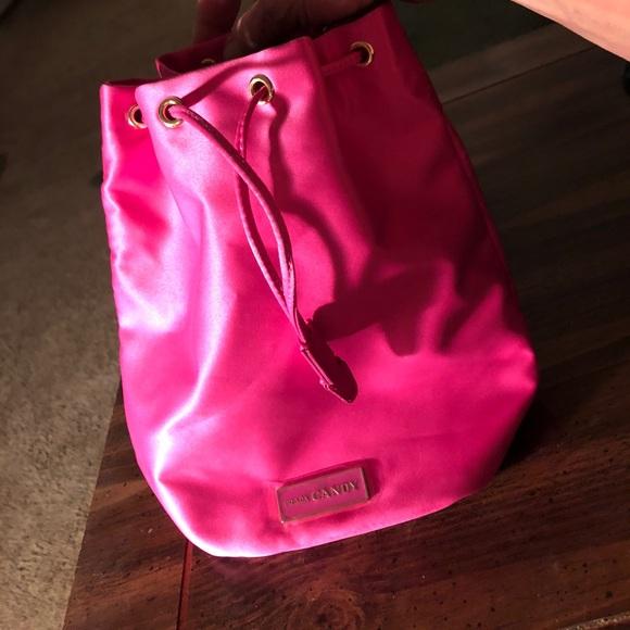 bolsa Pink de pequeña Bright Prada sedoso cordón qPB7tUtxw