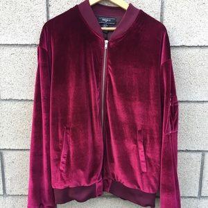 Forever 21 Men's Velvet Jacket