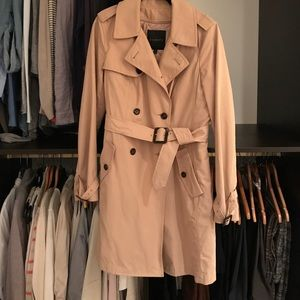 Talbot's Women's double-breasted Trenchcoat