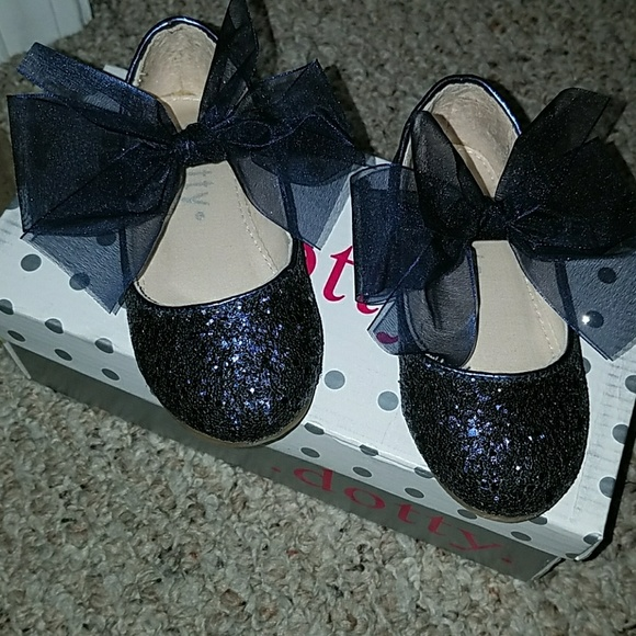 e565e43b Navy Glitter Mary Jane Flats. M_5a02630d8f0fc462bb045287