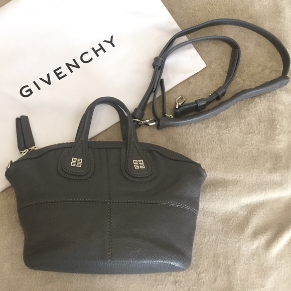 Givenchy Handbags - NWOT Givenchy Micro Nightingale (Dark Gray) 5768438555a71