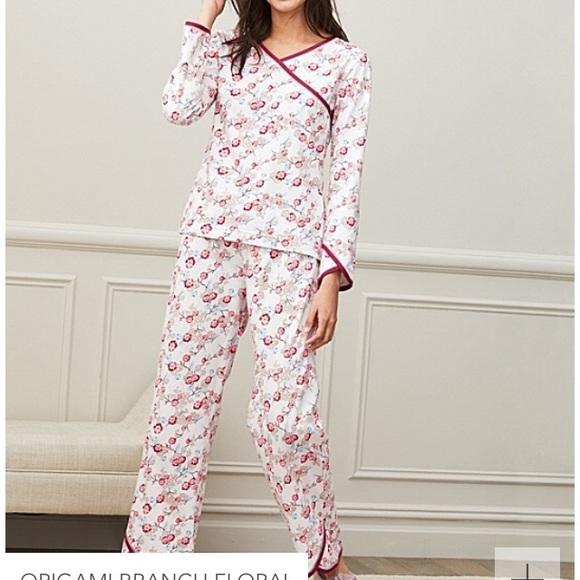 2111979d97 Garnet Hill Other - Asian wrap organic cotton pajamas