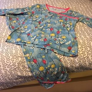 7cd2a6aefe Garnet Hill Intimates   Sleepwear - Asian wrap organic cotton pajamas