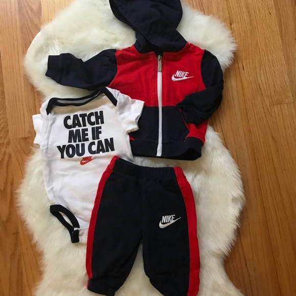 Baby Boys Nike Three Piece Sweat Suit
