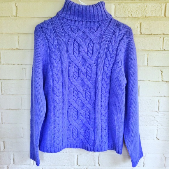 Vintage - Vintage Northern Isles chunky purple sweater from ...