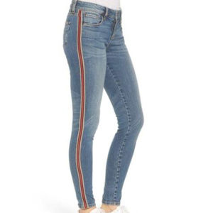 STS Blue Piper Athletic Stripe Skinny Jeans