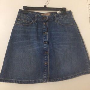 Zara jean skirt. Knee length