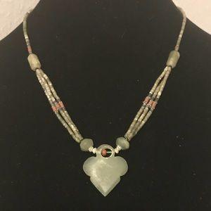 Jewelry - Jade arrow necklace