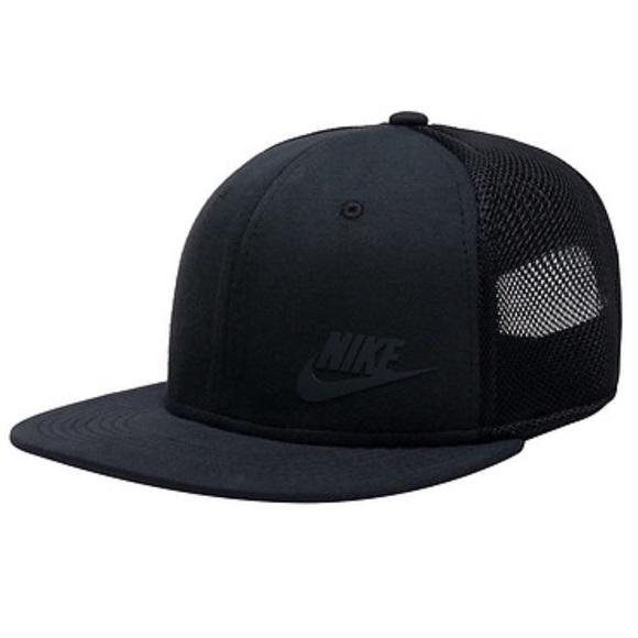 Nike True Tech Pack Black Snapback Hat Cap da14c356bc11