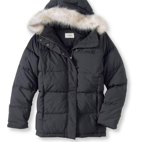 870171334 L.L. Bean Ultrawarm Goose Down Jacket ( ll bean )