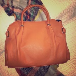 """Pink Haley """"Beatrice"""" Tote in Clay, ONLY 2 LEFT!"""
