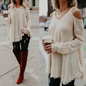 ELYSE Knit Sweater - CREAM