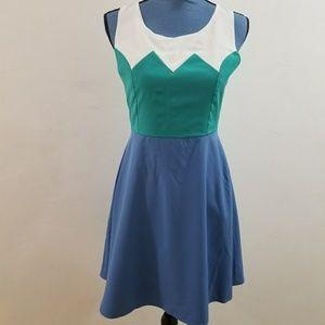 Alythea Scoop-Neck Dress