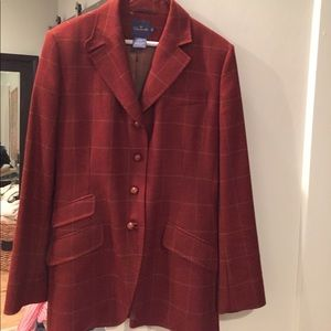 Faconnable Wool Cashmere Riding Coat 10