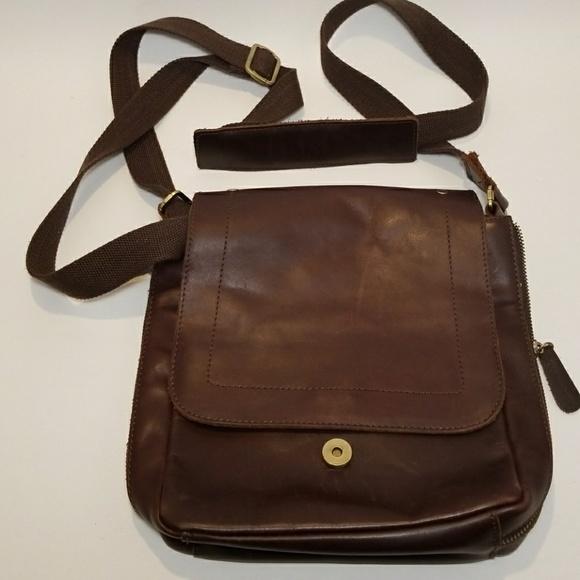 No brand Bags   Genuine Leather Crossbody Bag   Poshmark 21cf932e4d