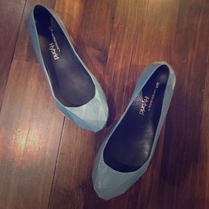 United Nude Icy Blue Jelly Flats