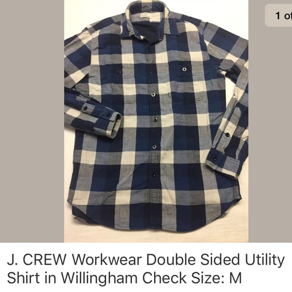 d6227aa0 J. Crew Shirts | J Crew Workwear Double Sided Utility Shirt | Poshmark