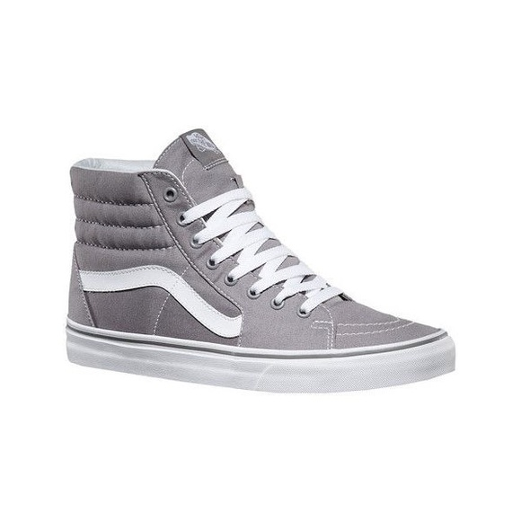 436e5db7c57 Vans 11.5M Frost Gray Sk8-Hi High Top Sneakers