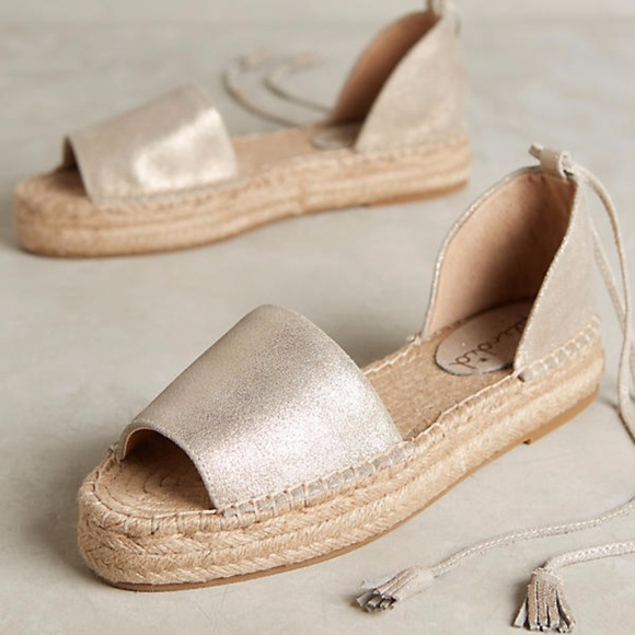 fa4efa5272a Splendid Edna Espadrilles Metallic Platform Sandal