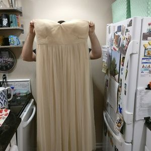 Floor length formal gown