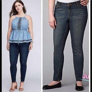 Lane Bryant loop18 skinny jeans. Size 27