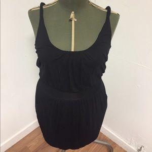 Cute little black dress. Grecian goddess mini.
