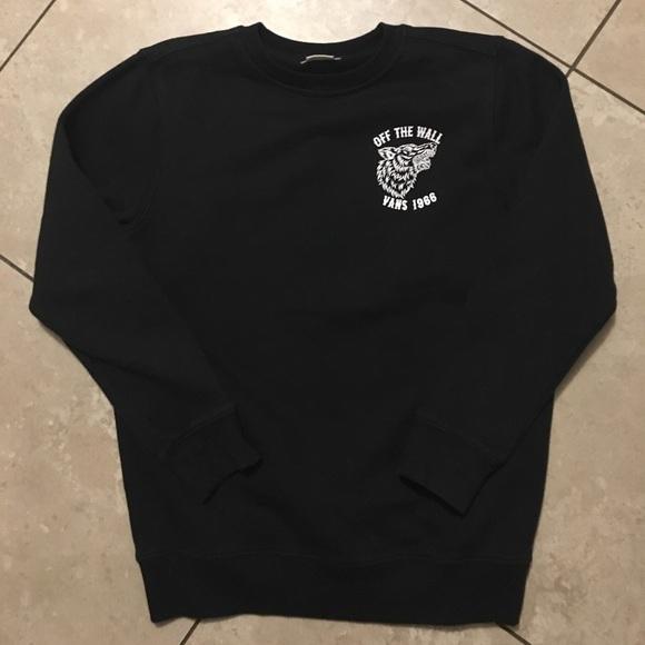 08d68656df Vans Off The Wall Howler Crew sweatshirt. M 5a02844b4225be3d2d054d7e