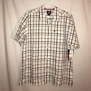 Quiksilver Button Down Shirt, Size Large