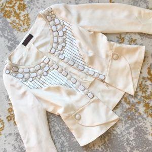 ESCADA Stunning embellished crystal blazer 6/8