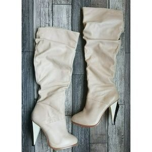JULIA LUNDSTEN for PORTS calf boots