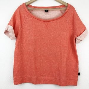 Oakley Tops - Oakley Short-Sleeve Terry Sweatshirt