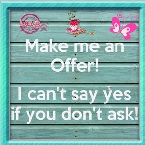 Other - Reasonable offers are always welcome 🎀
