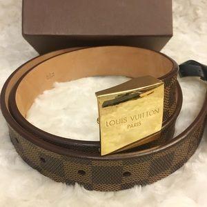 Authentic LV DE Belt