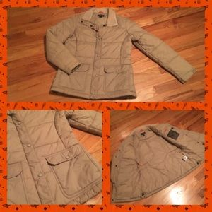 ❄️Lands End Tan Jacket Size: Small 6/8