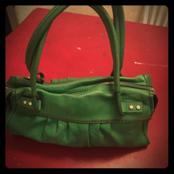 Sigrid Olsen Bags   Adorable Kelly Green Leather Purse   Poshmark 864b6111f4