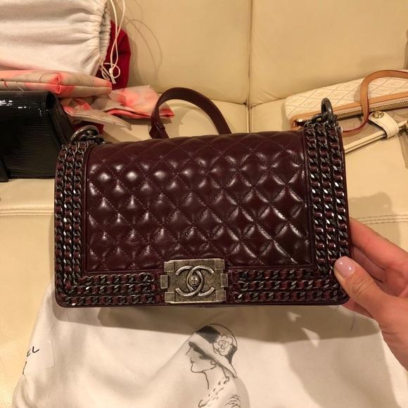 ee9f0ca14d3d CHANEL Bags | Boy Bag Old Medium Size | Poshmark