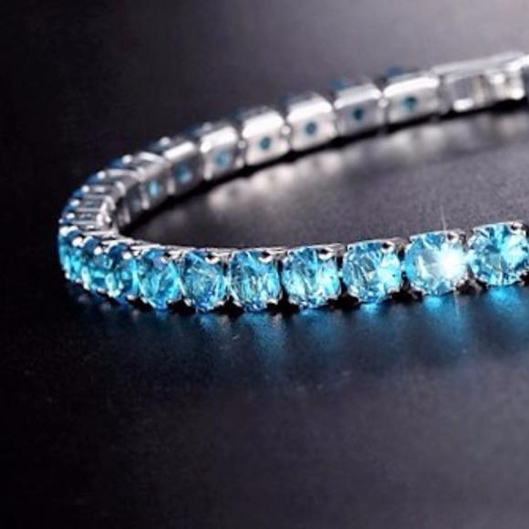Jewelry - 5 Colors Cubic Zirconia Tennis Bracelet