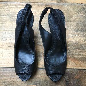 Alice + Olivia Black Heels