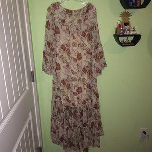 Dresses & Skirts - Floral long dress
