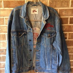 Jackets & Coats - Vintage Planet Hollywood Reno Denim Jacket