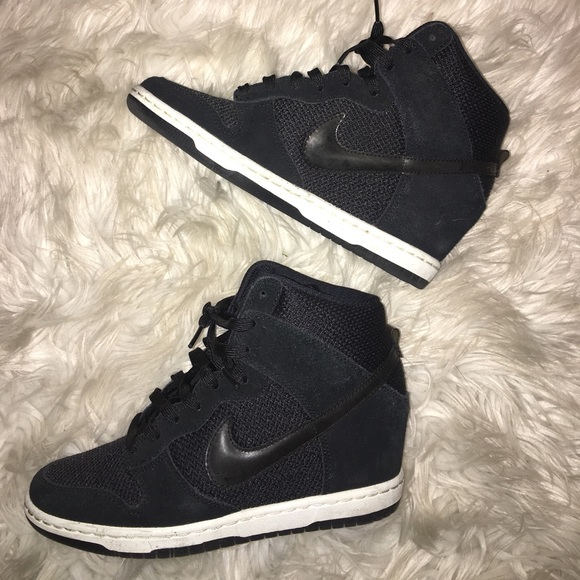 Nike Sky Hi Dunks. Height without the heels. :) <3 Still, 5