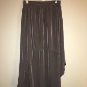 Women's high low Skirt Size Small