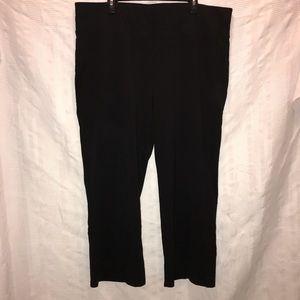 Lane Bryant active stretch knit pants size 22 24 S