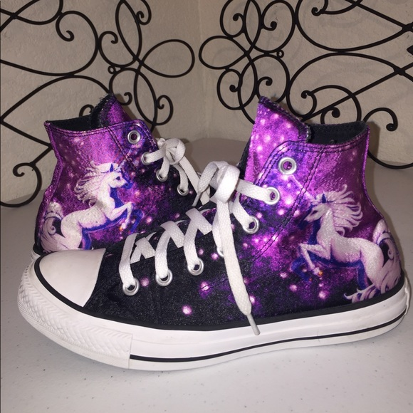 super popular 68ae9 4b991 Converse Shoes - CONVERSE🦄LIMITED EDITION Galaxy Unicorn High Tops