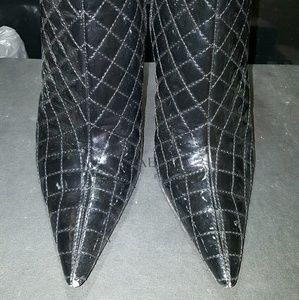 Ankle boots, leather,  size 8