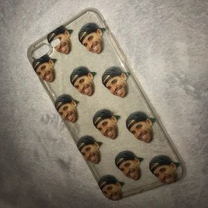 Accessories - DRAKE FACE iPhone 7+ (5.5in) case